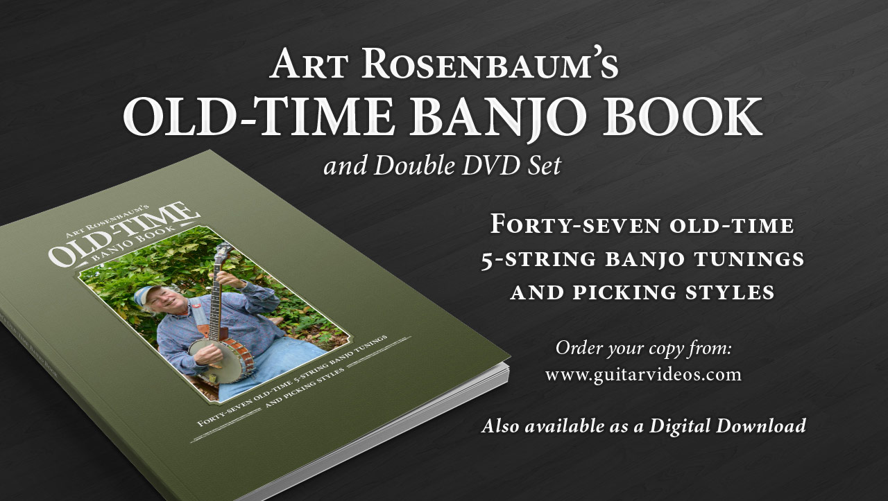 Find out more about Art's Old-time Banjo Book